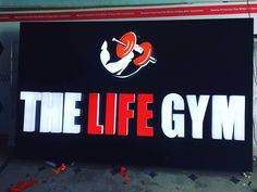 Led Signboard for The Life Gym at medchal