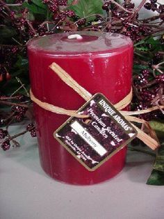 16 oz Round Pillar Mulberry Scent Candle by Unique Aromas. $20.25. Candle color may vary from photograph. Mulberry scent. Price per each candle. This candle is sure to bring joy and warmth to all those in the presence of it.Some assembly may be required. Please see product details.Some assembly may be required. Please see product details.
