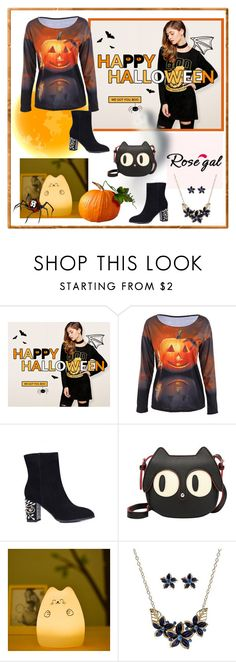 """""""Rosegal Halloween giveaway"""" by carola-corana ❤ liked on Polyvore"""