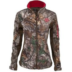 This Realtree Xtra camo Ladies Softshell Jacket is designed specifically for women and engineered to deliver optimal performance and comfort. $39.97  #Realtreecamo