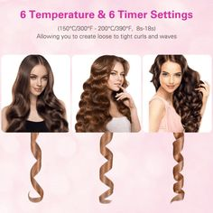 Automatic Hair Curler – Unique Dynasty Automatic Curling Iron, Automatic Hair Curler, Curling Iron Hairstyles, Curled Hairstyles, Grey Hairstyle, Curling Hair With Wand, Hair Curler Wand, Natural Hair Styles, Short Hair Styles