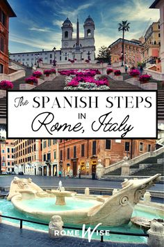 But for Romans and tourists alike, this iconic staircase has a draw all its own - it's a place to gather and people watch, to take lots of selfies, to relive that moment in Roman Holiday when Audrey Hepburn and Gregory Peck started their romantic afternoon with a gelato right on these steps. Venice Travel, Rome Travel, Italy Travel Tips, Europe Travel Guide, Rome Attractions, Italy Destinations, Things To Do In Italy, Gregory Peck, Roman Holiday
