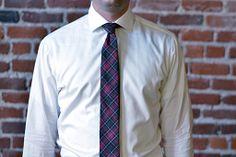 Sutter & Stockton Broderick Tartan Tie :: Maxton Men