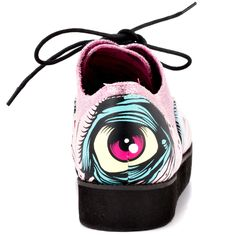 Grave Dance Creeper - Pink  Iron Fist $49.99