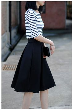 Waistline: Empire Pattern Type: Solid Style: Casual Material: Lanon Dresses Length: Mid-Calf Silhouette: A-Line size Waist Width(cm) Skirt length(cm) S 65-65 66 M 70-70 66 L 75-75 66 XL 80-80 66