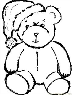 Teddy Bear Coloring Pages New Photos Bear Coloring Pages Preschool and KindergartenColoring Page for Kids : Coloring Page for Kids Teddy Bear Coloring Pages, Disney Coloring Pages, Christmas Coloring Pages, Coloring Pages To Print, Coloring Book Pages, Printable Coloring Pages, Coloring Pages For Kids, Coloring Worksheets, Christmas Images To Color