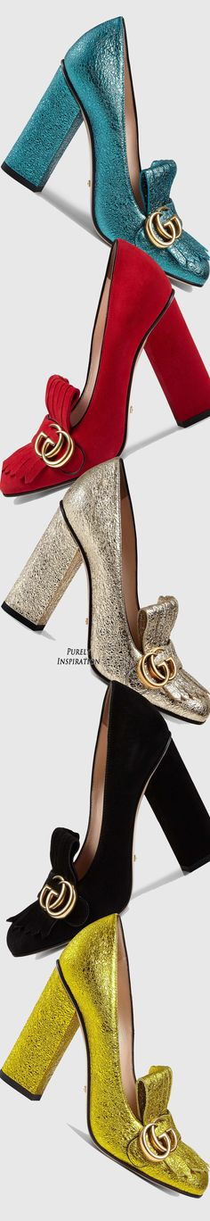 Gucci leather pumps | Purely Inspiration                                                                                                                                                                                 More