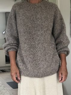 Drops Design, Men Sweater, Pullover, Knitting, Crochet, Sweaters, How To Make, Fashion, Tricot