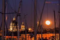 Cupole dal porto, Catania Sicily