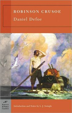 Robinson Crusoe -- one of my all time favorites!!!