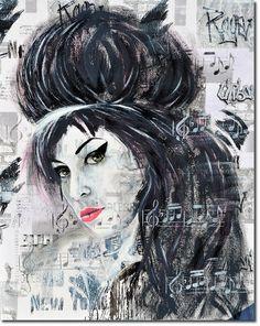 Menschen - Malerei in Aquarell und Acryl