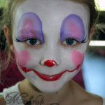 Cute Clown ~ Cairns Face Painter http://makeupartistrycairns.com.au