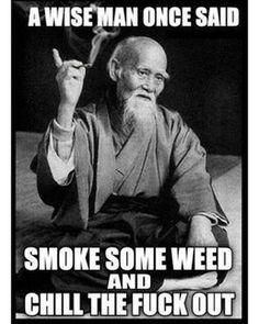 A Wise Man Once Said... Tag ya mates . . . . .  #weed #cannabis #bong #marijuana #kush #ganja #highasfuck #smokepot #thc #legalizemarijuana #stayhigh #420 #stoned #stoner #dope #highaf #cannabisculture #smokepot #pothead #joint #smoke #instaweed #maryjane #trippy #blaze #dab #vape #munchies #nug #blunt