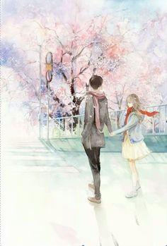 Cute Couple Drawings, Cute Couple Art, Anime Couples Drawings, Manga Couple, Anime Love Couple, Cute Anime Couples, Couple Illustration, Illustration Art, Anime Art Girl