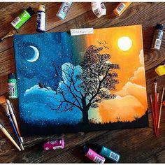 Art Journal Inspiration, Painting Inspiration, Design Inspiration, Journal Ideas, Design Ideas, Daily Inspiration, Art Inspo, Paint Designs, Oeuvre D'art