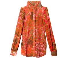 40s McQ Alexander McQueen blouse - Fabulous at Every Age: Resort Chic
