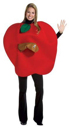 Disfraces de Carnaval caseros de goma eva: manzana