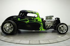 hot rod fords | Nice 1934 Ford Coupe hot rod was sold for $100K by RK Motors Charlotte ...