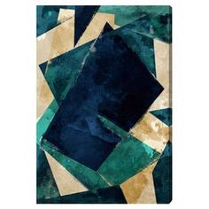 """""""Abstracta Dos"""" by Oliver Gal Canvas Art"""