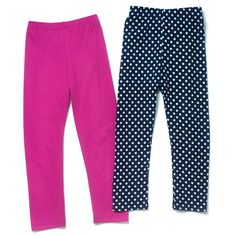2 prints to wear!A set of 2 leggings for your stylish little one.FEATURES• A two pack of leggings;…
