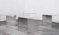 Robert Morris - Mirror Cubes