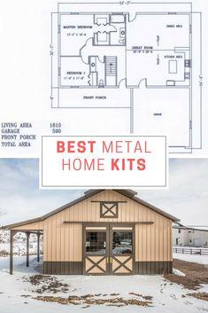 12 best metal home kits images metal building homes metal rh pinterest com
