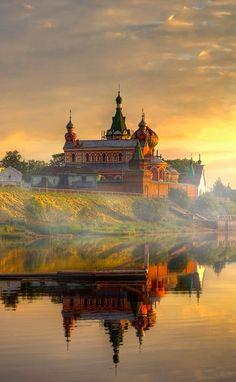 The Ladoga lake in Russia.