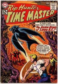 Rip Hunter - The Alien King Of 1000 B C - Bat - King Xenor - Powers
