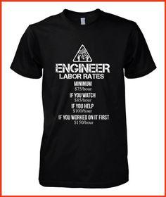 Engineer labor rates