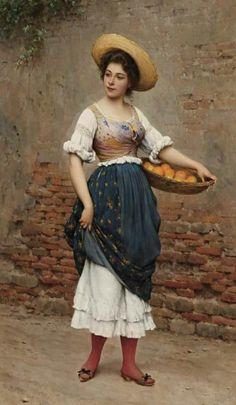 Eugene de Blass (1843-1932) – Pintor Italiano_23