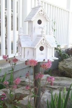 Love this bird house condo