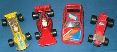 FOUR 1970/1980s MATCHBOX LESNEY RACING CARS – FORMULA 1 / BMW / STOCK CAR - http://www.matchbox-lesney.com/47277