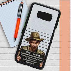 Indiana Jones Mugshot Samsung Galaxy S8 Case Dewantary