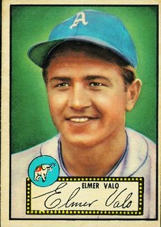 Elmer Valo 1952 Outfield - Philadelphia Athletics  Card Number: 34  Series: Topps Series 1