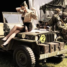 Pin up girl Willys MB 💕📸 jeeps willys jeepwillys willysjeeps jeep jeepjeep willysoverland willystruck jeeplove myjeep vintagejeep oldjeep jeeplife instajeep olllllllo jeepclasico instajeepthing pinupgirl pinupgirls Jeep Wrangler Yj, Jeep Jk, Jeep Wrangler Unlimited, Jeep Willys, Car Girls, Pin Up Girls, Military Jeep, Badass Jeep, Jeep Wave
