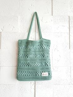Crochet Tote, Crochet Shoes, Crochet Handbags, Crochet Purses, Crochet Chart, Filet Crochet, Crochet Stitches, Knit Crochet, Crochet Patterns