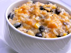 Crockpot Chicken and Rice with Black Beans