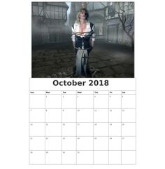 Free Wall Calendar October 2018 Calendar 2018, Layout Design, October, Wall, Free