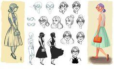 Melany Altuna - Character Design 1