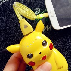 Pikachu Power Bank For iPhone Meizu Pokemon Go Battery USB Charger For Universal Phone Xiaomi 5s iPad mp3 mp4 GPS With LED Light(China (Mainland))