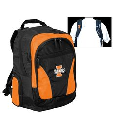 c0b92eda55 Illinois Fighting Illini Backpack Illinois Fighting Illini