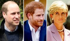Prince's William and Harry and Princess Diana