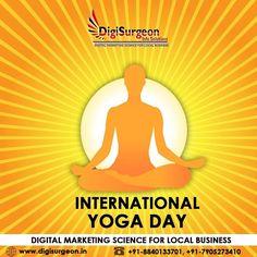 Top Digital Marketing Companies, Facebook Marketing, International Yoga Day, Yoga Fitness, Meditation, Science, Ads, Mirror, Twitter