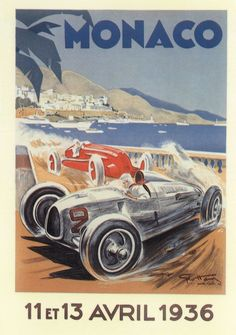 Ahead of the biggest Grand Prix of the season, we look back at the history of the Monaco Grand Prix with a series of iconic posters and classic photographs from the race's history