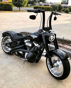 Harley Davidson Custom Bike, Harley Davidson Chopper, Harley Davidson Motorcycles, Best Motorbike, Bobber Motorcycle, Motorcycle Paint, Harley Fatboy, Harley Bikes, Honda Fury Custom