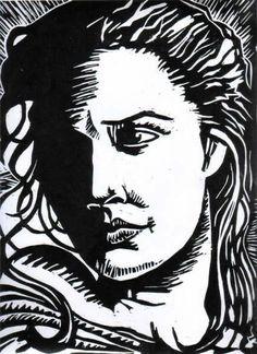 Rostro femenino Cristian Lopez Rey - Artelista.com
