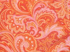 pretty paisley! Reminds me of a tote bag I had when I was 5 years old.