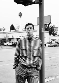 Supermodel Josh Beech photographed by Jegor Zaika and styled by Philip Vlasov for the cover story of GQ Style Russia spring / summer 2017 edition.