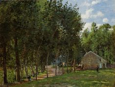 Camille Pissarro, The House in the Forest, 1872