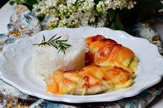 Briose pizza - CAIETUL CU RETETE Shrimp, Pizza, Meat, Chicken, Fine Dining, Cubs